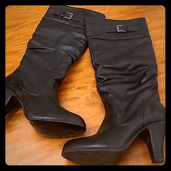 Rampage Shoes - Rampage knee high boots
